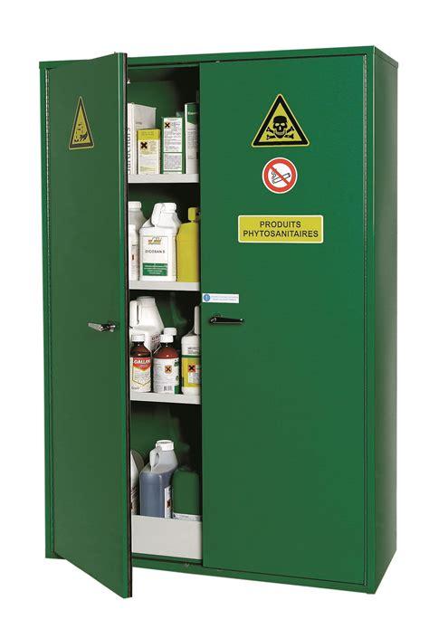 armoire de stockage pour produits phytosanitaires 2 portes