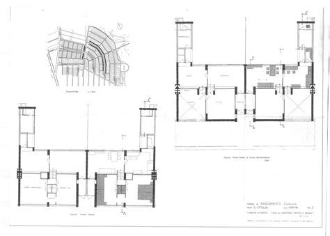 gropius house plan 1926 28 zesp 211 ł mieszkaniowy torten dessau walter gropius 1modernizm pinterest
