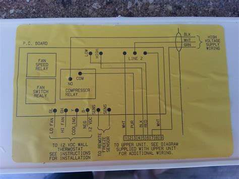 coleman rv air conditioner wiring diagram free