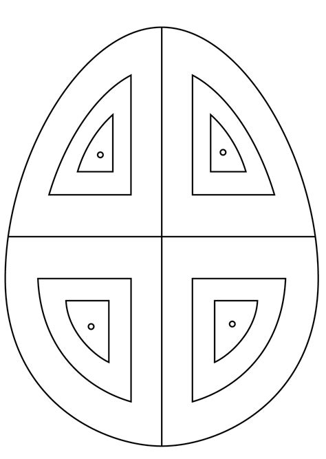 abstract easter coloring pages beautiful easter egg flower pattern coloring page free