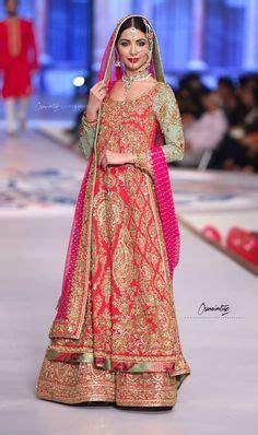 Dress Muslim Anum navy blue bridal ensemble with ornate work pakistanibride muslimbride via