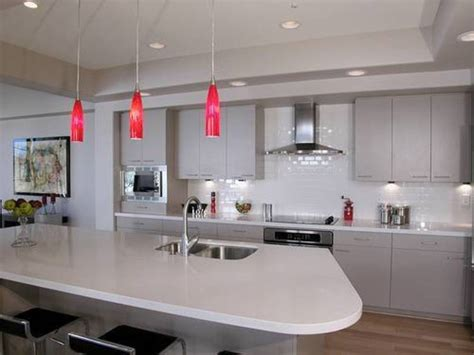 pendant lighting for kitchens splendid pendant lighting over kitchen island with red