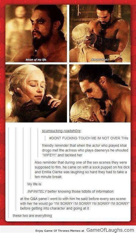Khal Drogo Meme - daenerys and khal drogo are a perfect couple game of