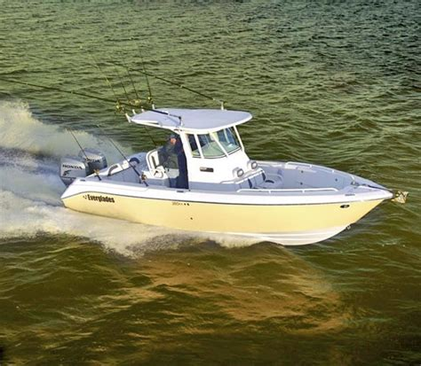 everglades boat performance research everglades boats 260cc center console boat on