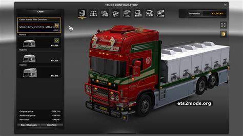 Mod For Ets2 Game Modding | scania r560 donslund trailer ets2 mods