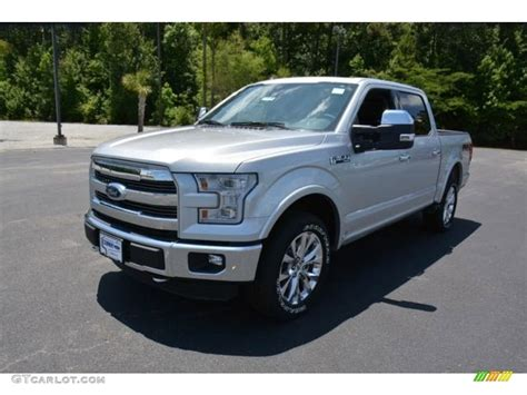 ford lariat 2015 2015 ingot silver metallic ford f150 lariat supercrew 4x4