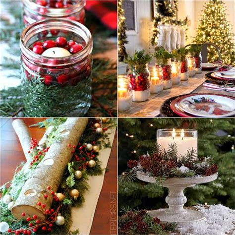 diy christmas table decorations easy centerpiece in 10