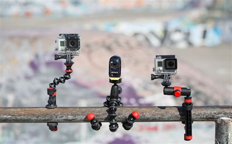 Gorillapod Gopro what s your angle new gopro mounts tripods from joby joby