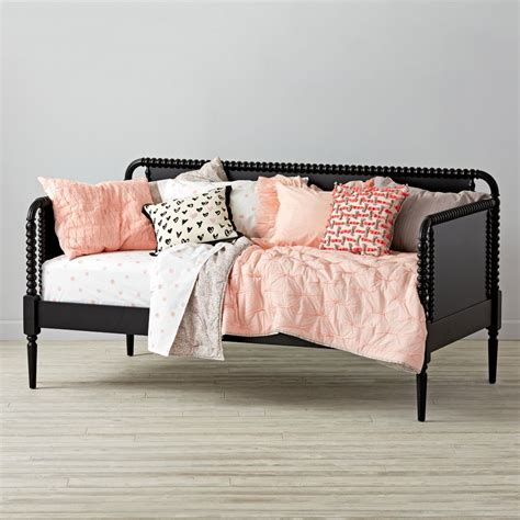 jenny lind kids daybed black  land  nod