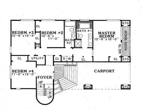 columbia floor plans columbia 4195 4 bedrooms and 2 baths the house designers
