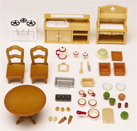 Calico Critters Kitchen by Calico Critters Deluxe Kitchen Set At Growing Tree Toys