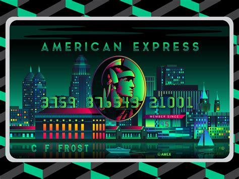 how to make american express card american express green card by andy hau dribbble