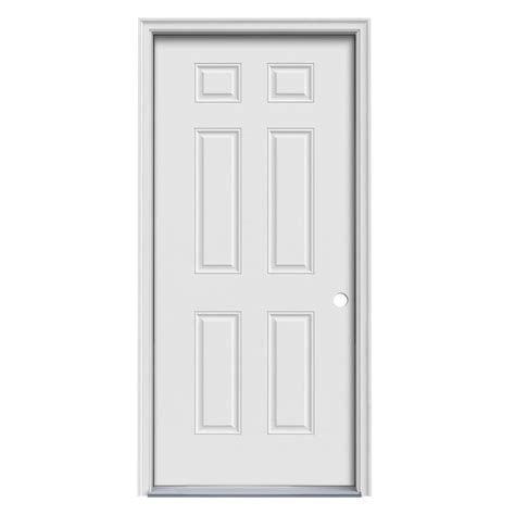 prehung steel exterior doors enlarged image