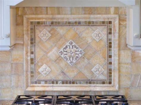 Backsplash Tile For Kitchen Kitchen Medallion Design Custom Bath Amp Kitchen