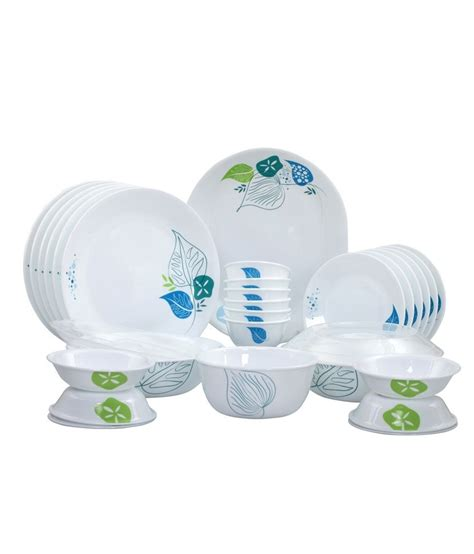 corelle deals corelle india collection foliage 30 pcs dinner set snapdeal price dinner sets deals at snapdeal