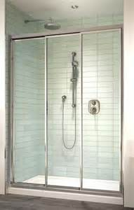 3 panel sliding shower doors shower enclosures sliding shower doors