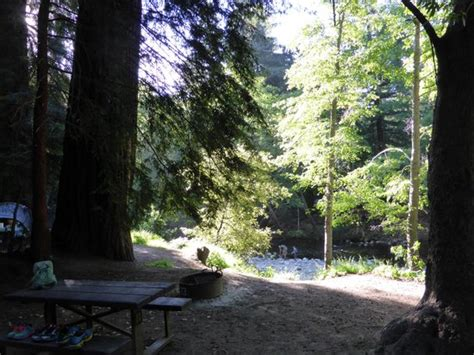 view form site to river picture of big sur cground