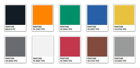 trend color pantone fall color palette www pixshark com images