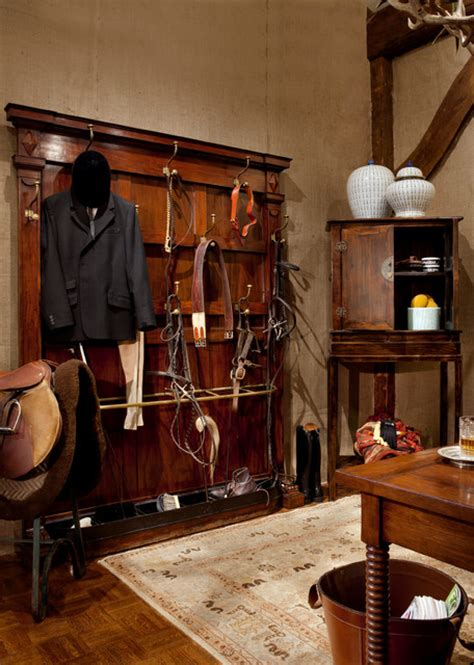 Tack Room Ideas by Tack Room Traditional Home Office Boston By Finn