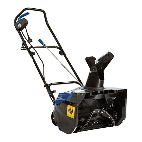 snow joe 18 ultra electric snow thrower with light snow joe ultra 18 in 15 amp electric snow blower sj622e