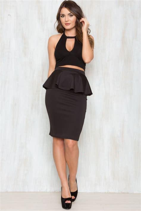 Skirt Peplum peplum skirt dressed up