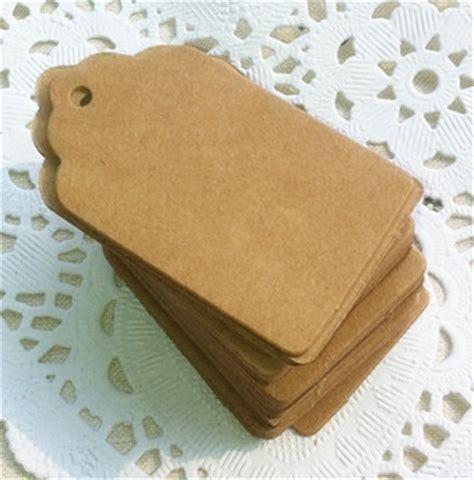Handmade Price Tags - 5 3cm baking blank vintage price tag gift handmade kraft