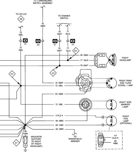 1988 jeep grand wiring diagram 1988 mercury grand