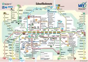 Munich Metro Map by Munich S Colorful U Bahn Munich Vacation Guide