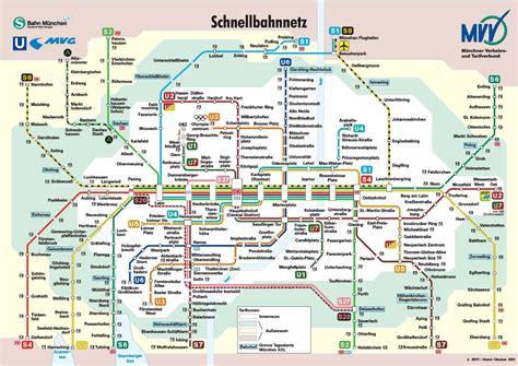 munich metro map munich mvv map the original munich city guide