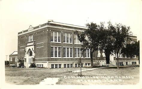 oberlin court house 1930 50 real photo postcard community high school norton ks unposted ebay