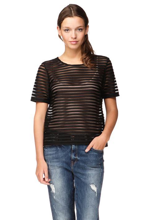 Vero Moda Sleeve Blouse by Vero Moda Sleeve Top In Black Lyst