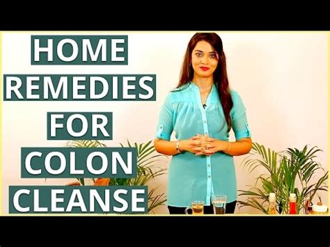 Detox Home Remedies For Constipation by How To Cleanse Your Colon Naturally Doovi