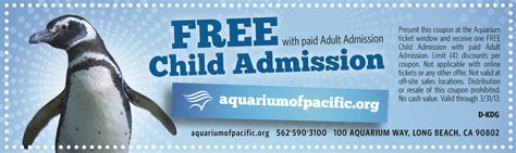 Mystic Aquarium Printable Coupons