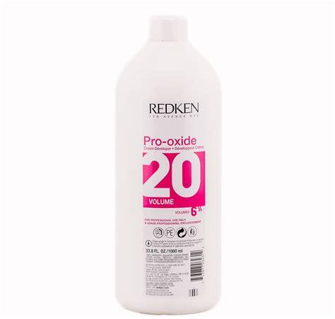 hair color developer redken prooxide volume 10 developer 1l for