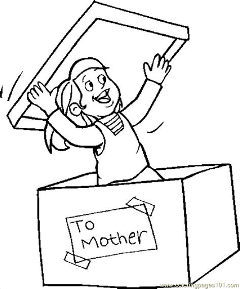 coloring pages gift for mom 1 education gt mother s day
