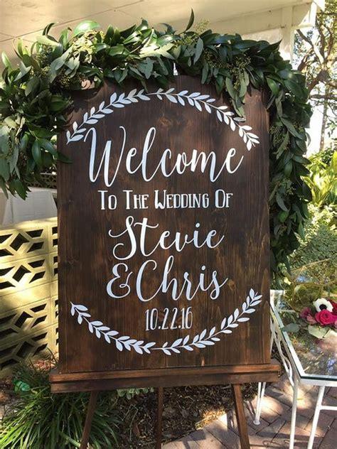 rustic budget friendly rustic wedding signs ideas