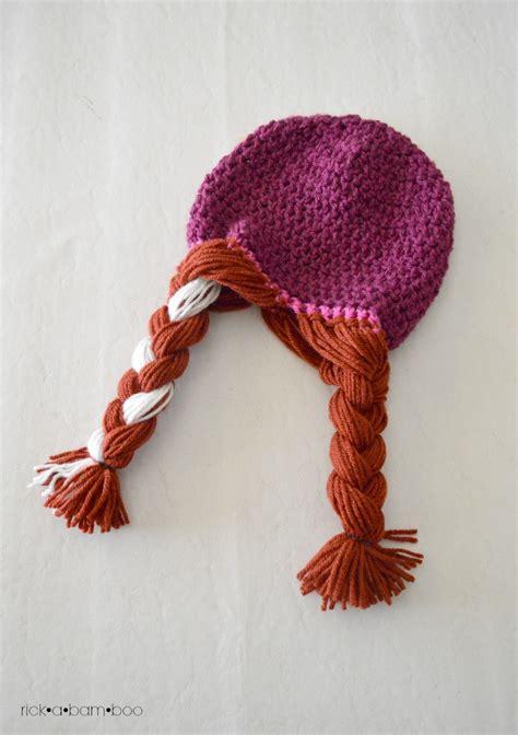 free pattern elsa crochet hat anna elsa crochet hats