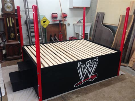 wwe beds wwe bed without the ropes daily wood projects