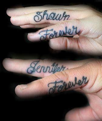 best area finger tattoos