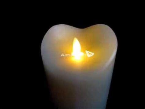 candela led lum 233 candela led a batterie con fiammella in movimento