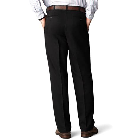 comfort pants dockers d4 relaxed fit comfort khaki flat front pants in