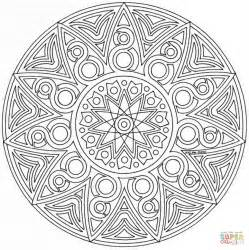 mandala coloring pages advanced level printable az coloring pages