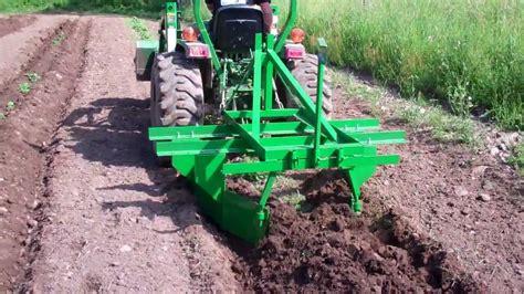 potato hiller raised bed cultivator