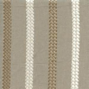 buy drapery fabric cheverny taupe gray embroidered striped drapery fabric