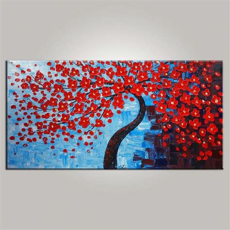 abstract bedroom art abstract art bedroom wall art tree painting flower