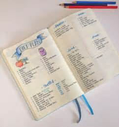 how to bullet journal weight loss with bullet journal