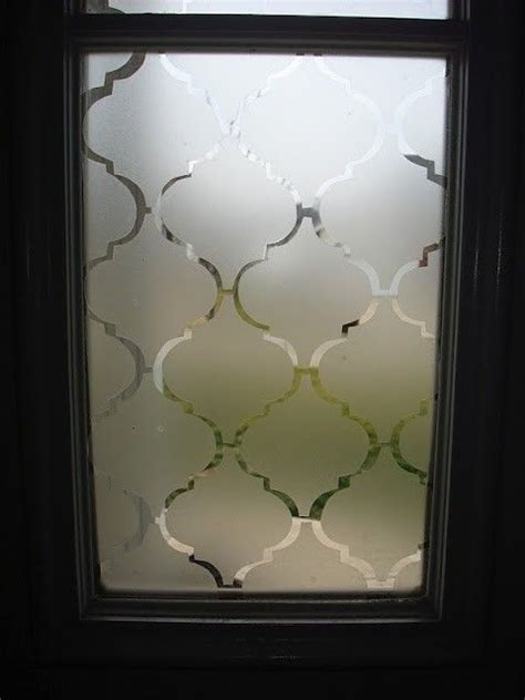 Diy Contact Paper To Create Frosted Windows Hmmm I Could Diy Frosted Glass Door