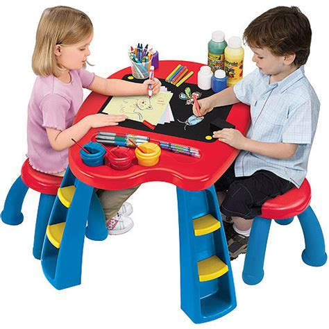 Crayola Table by Crayola Creativity Play Station Desk Activity Table Autism
