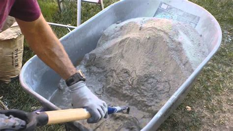how to make a concrete how to make and mix portland cement stucco in a