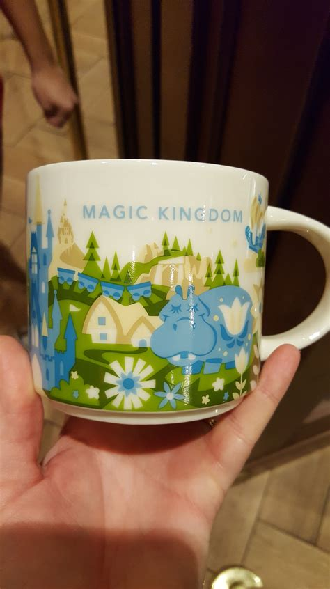 new magic kingdom starbucks quot new disney starbucks you are here mug spotted at magic